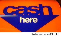 Cash here